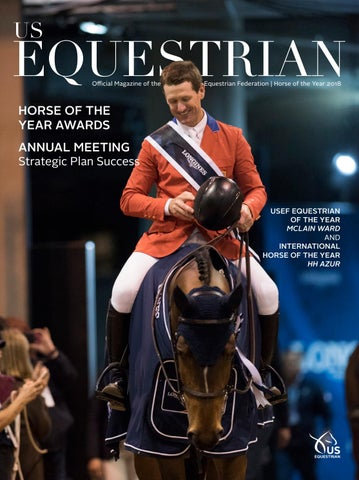 Us Equestrian Magazine By United States Equestrian Federation Inc