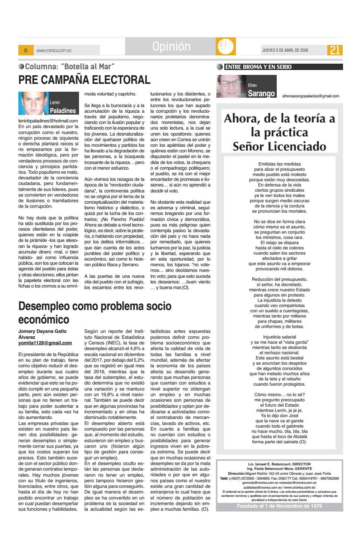 5abril2018 10125 By Diario Crnica