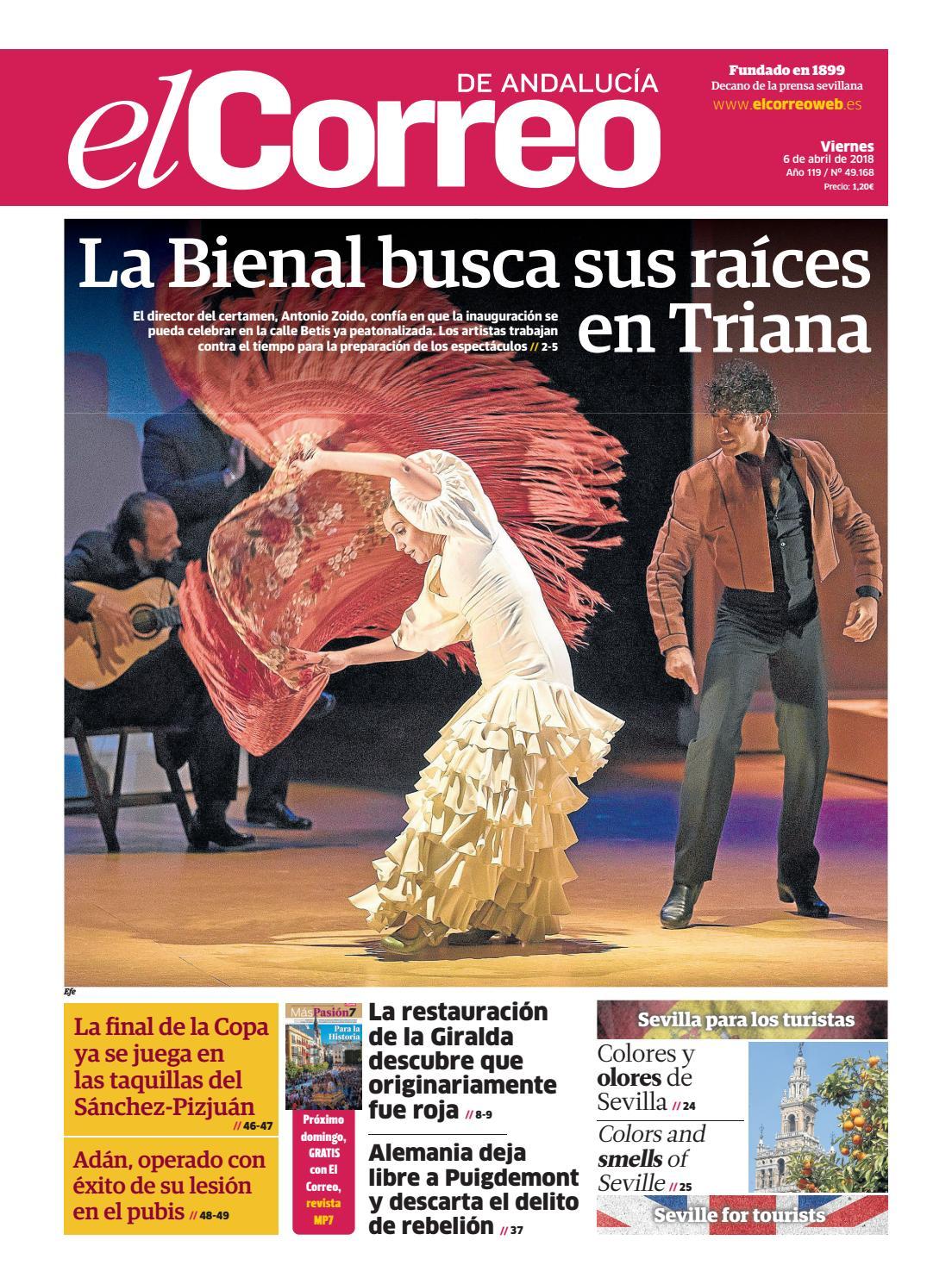 b9dc93a8d 06.04.2018 El Correo de Andalucía by EL CORREO DE ANDALUCÍA S.L. - issuu