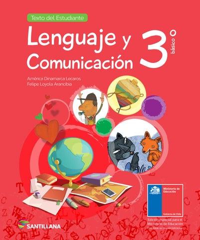 Lenguaje Y Comunicación 3º Básico Texto Del Estudiante By