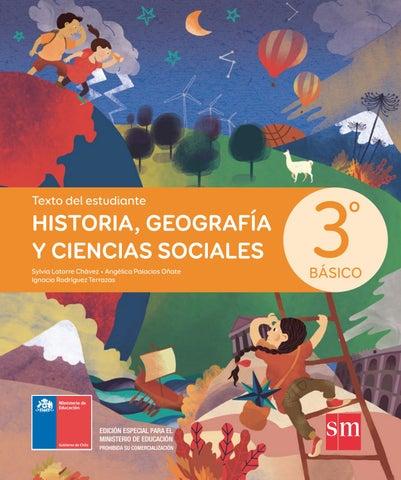 Historia Geografía Y Ciencias Sociales 3º Básico Texto Del