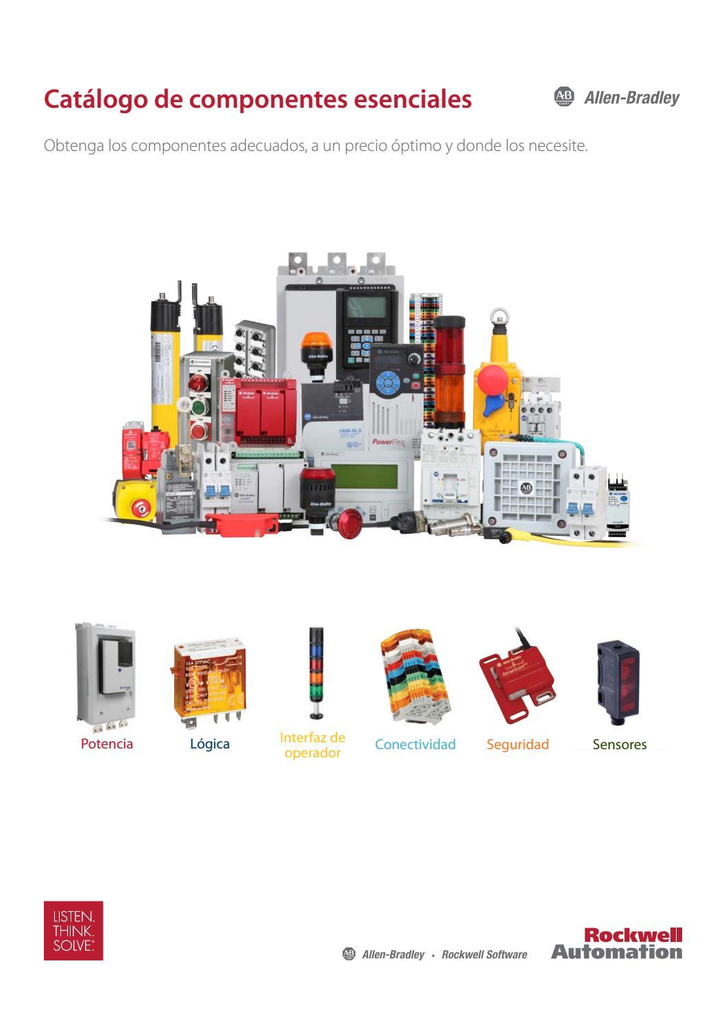 Allen Bradley Catálogo de Componentes Esenciales by www ...