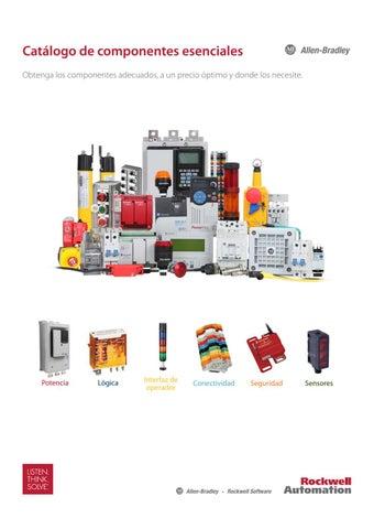 Allen dley Catálogo de Componentes Esenciales by www ... on