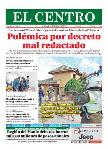 Diario 06-04-2018 by Diario El Centro S.A - issuu fd7b0ec87f4dc