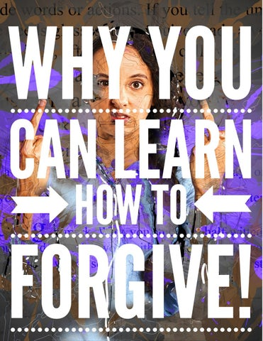 Page 20 of Why You CAN Learn How to Forgive!