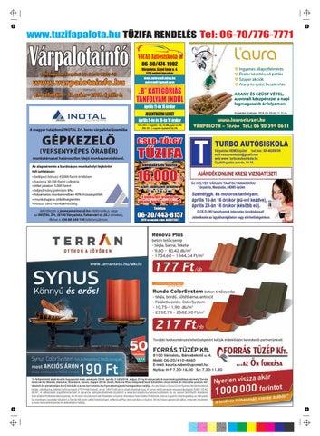1f3ac66c20 VárpalotaInfó by Lépés Magazin - issuu