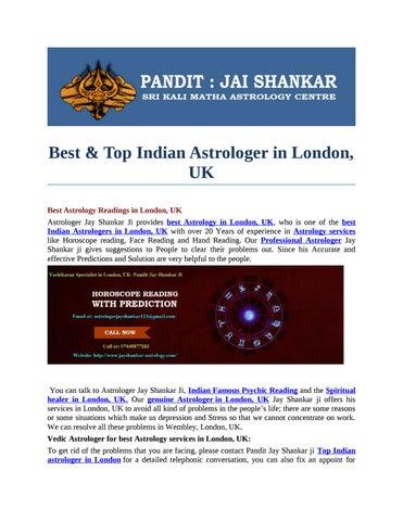 best astrologers in uk