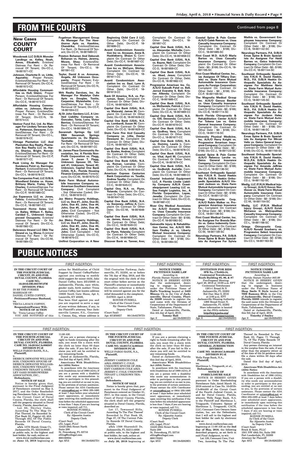 04 06 18 fndr by Daily Record & Observer LLC - issuu