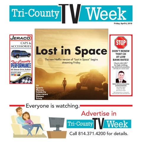 29ad983b TV Week Friday, April 6, 2018 by Tri-County TV Week - issuu