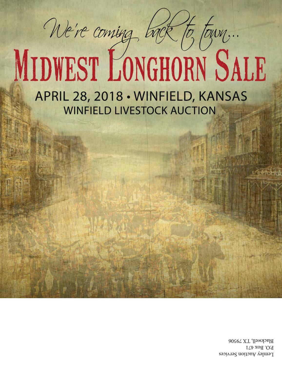 2018 Midwest Longhorn Sale By Texas Longhorn Trails Magazine Issuu