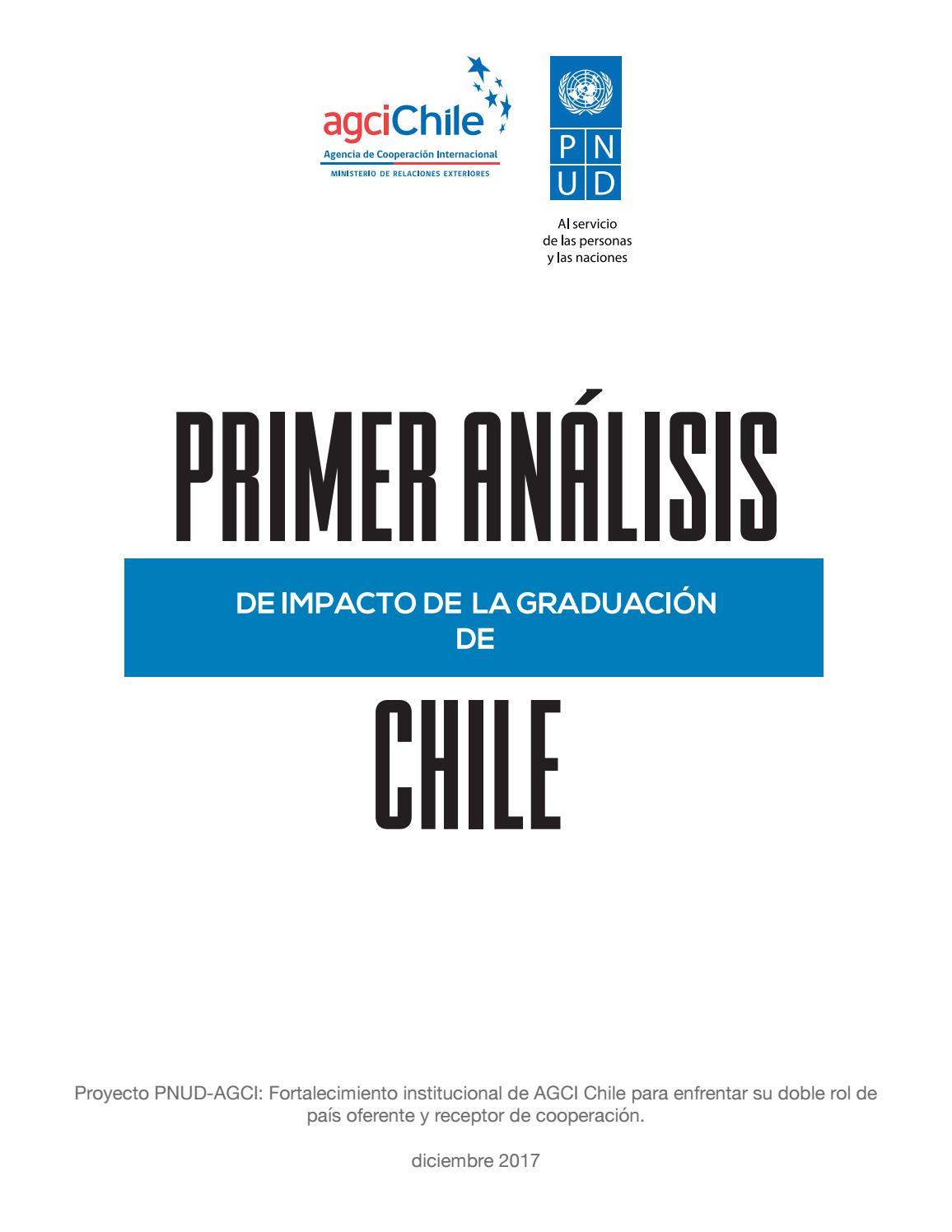 primer anlisis de impacto de la graduacin de chile by agcid agencia chilena de cooperacin internacional para el desarrollo issuu