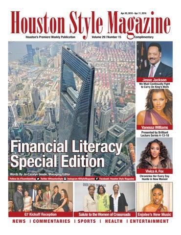 40d9e60ba Houston Style Magazine vol 29 No. 15 by Houston Style Magazine - issuu