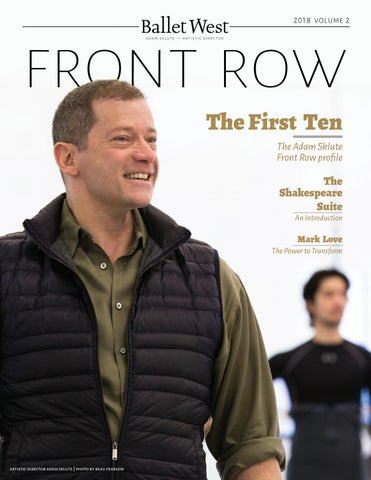 Front Row 2018 Volume 2 by Ballet West - issuu