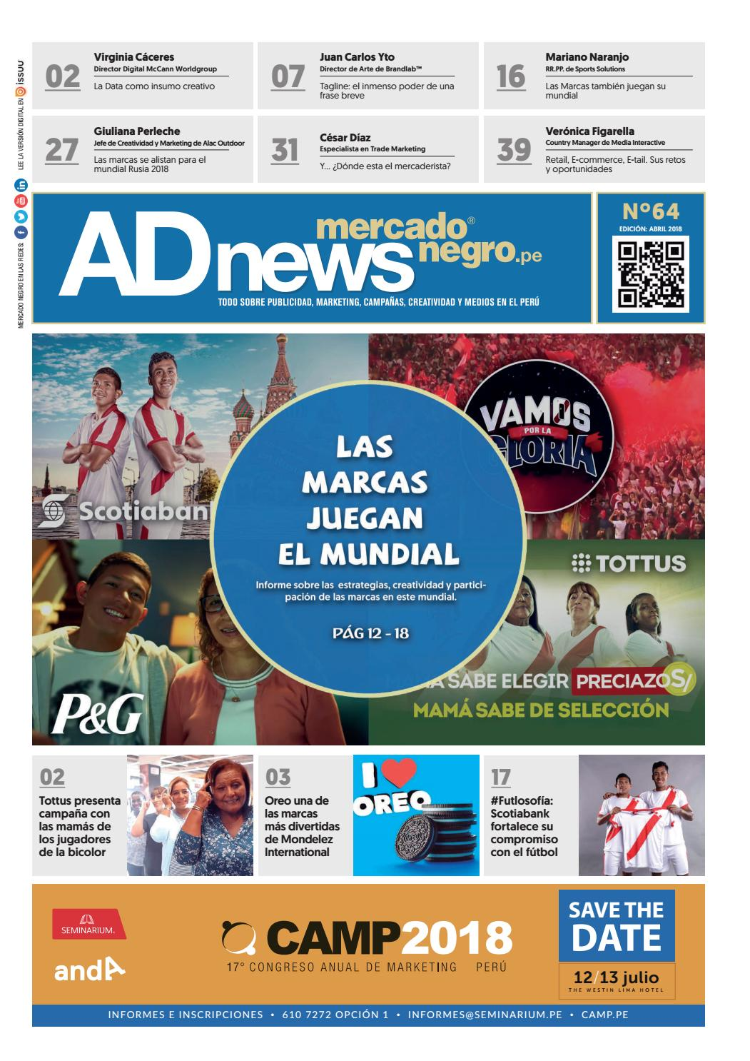 3e4375dd8892d AD News 64 - Abril 2018 by Mercado Negro Advertising - issuu