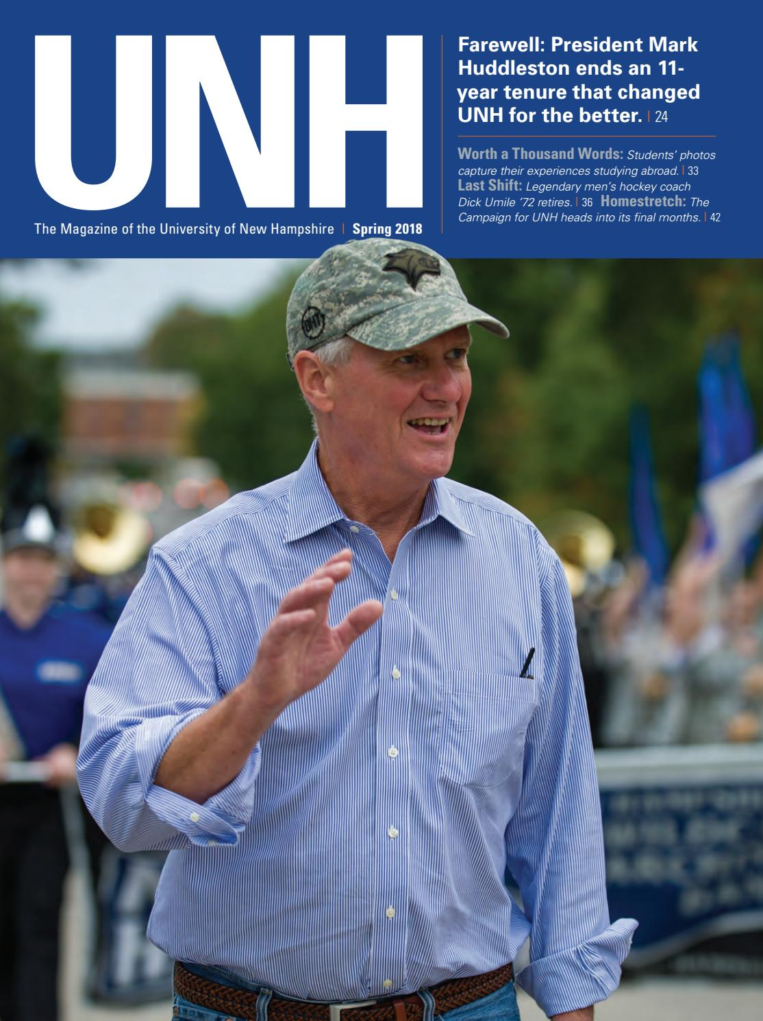 2b21c7655924 UNH Magazine Spring 2018 by University of New Hampshire - issuu