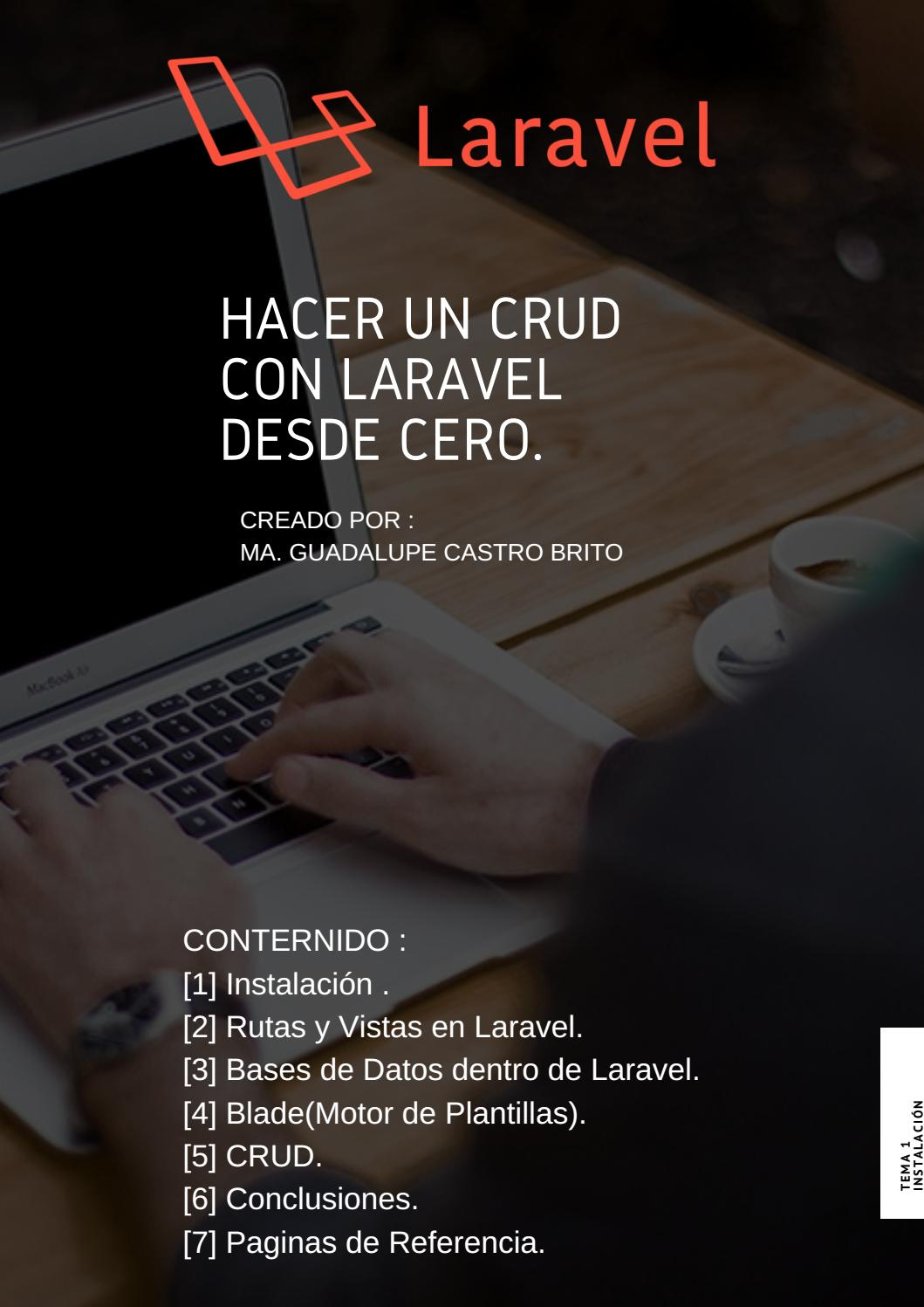CRUD con Laravel desde cero by CRUD en Laravel - issuu