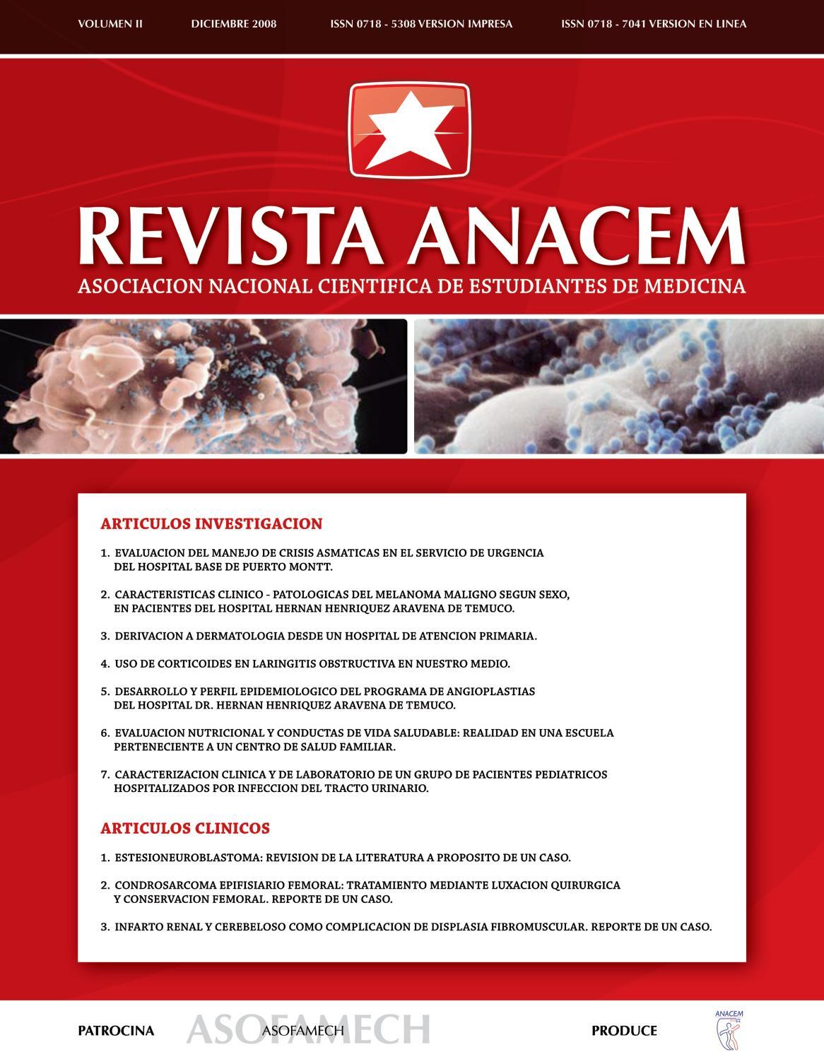 Revista ANACEM 2008;2(1) by REVISTA ANACEM - issuu
