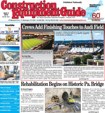 Northeast 7 April 4, 2018 by Construction Equipment Guide - issuu on