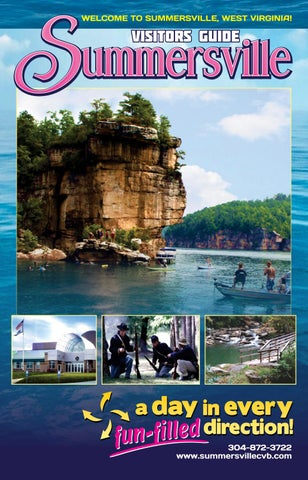 Summersville Wv Visitor Guide 2018 By Stallard Studios Publishing
