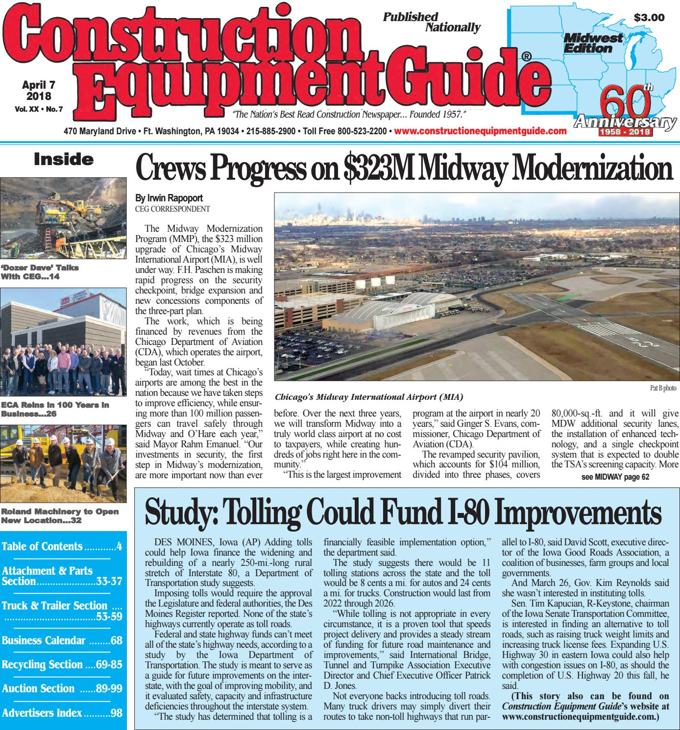 Midwest 7 April 7, 2018 by Construction Equipment Guide - issuu