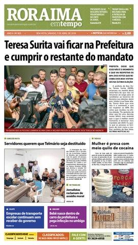 Jornal roraima em tempo – edição 903 by RoraimaEmTempo - issuu 91a240a890881