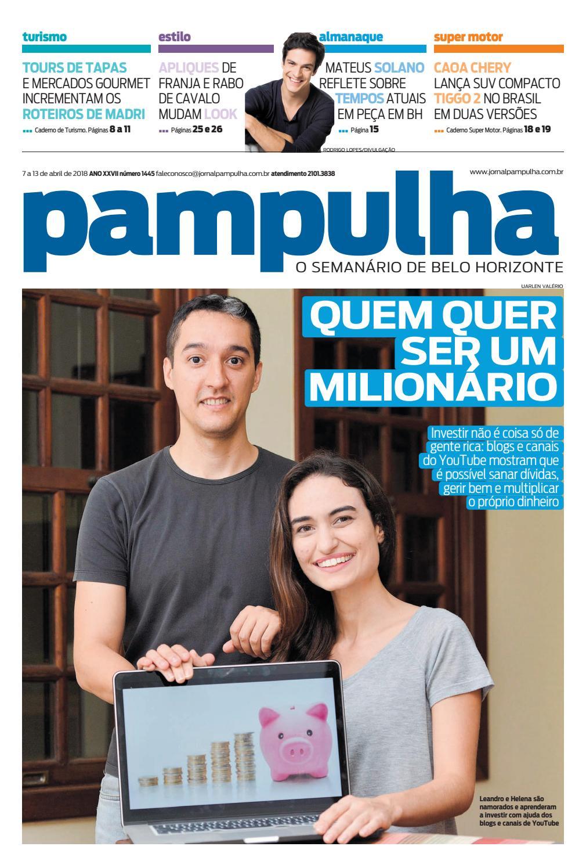 Pampulha 07 A 13 De Abril De 2018 By Tecnologia Sempre Editora Issuu