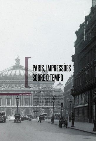 Page 120 of Paris, impressões sobre o tempo