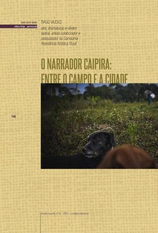 Page 146 of O narrador caipira: entre o campo e a cidade