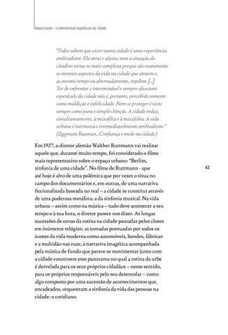 Page 43 of O interminável espetáculo da Cidade