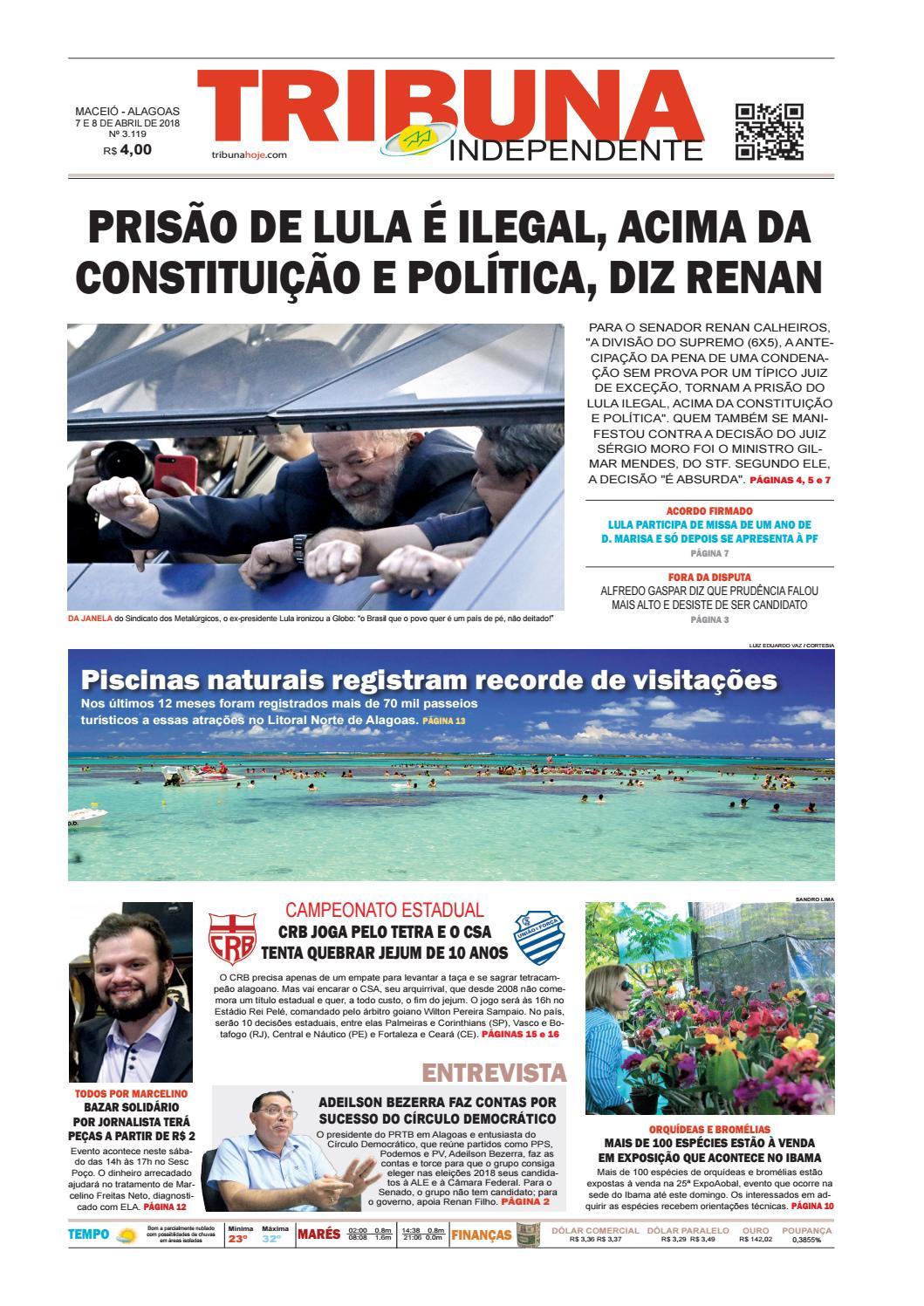 cb16c8c18 Edição número 3119 - 7 e 8 de abril de 2018 by Tribuna Hoje - issuu