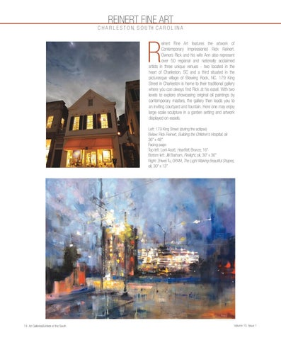 Page 16 of Reinert Fine Art in our latest issue
