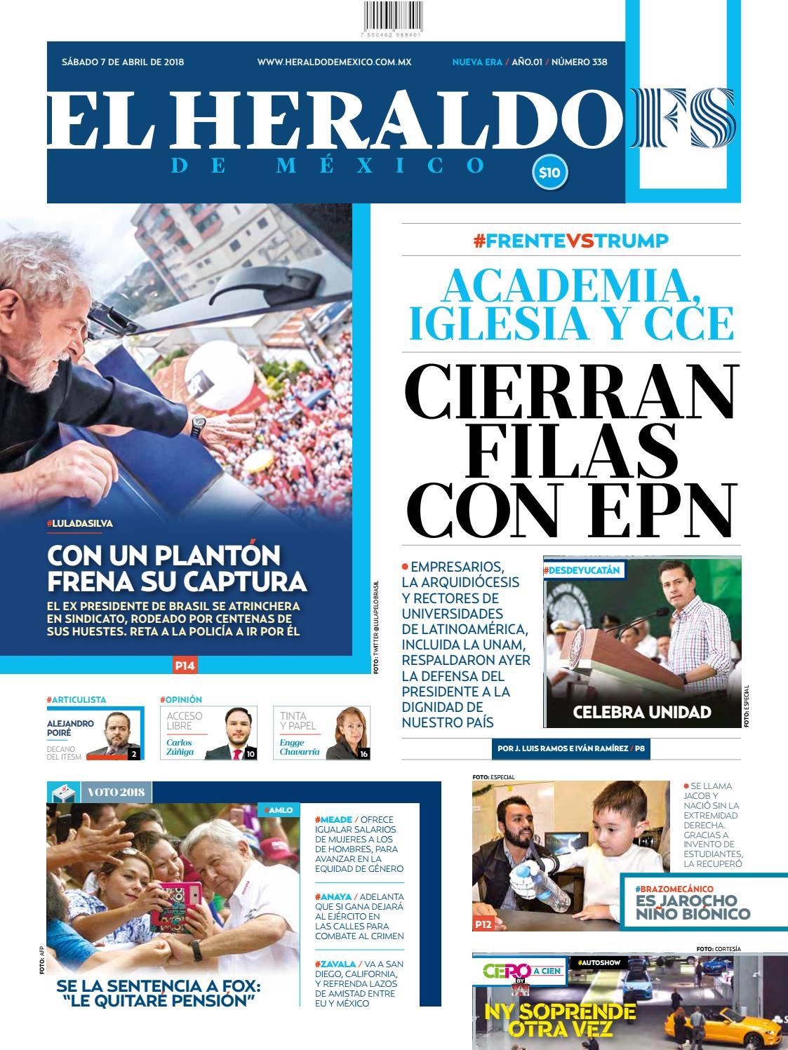 62585dd407 7 de abril de 2018 by El Heraldo de México - issuu