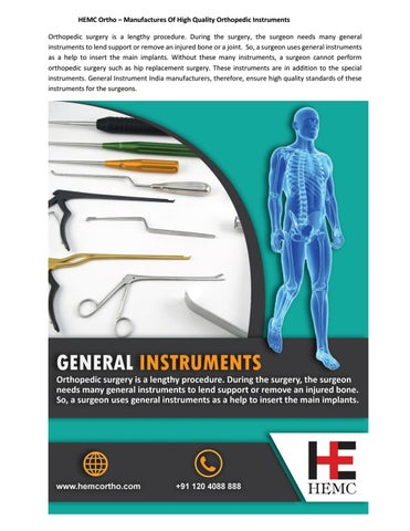 Looking for High Quality General Instruments in India by