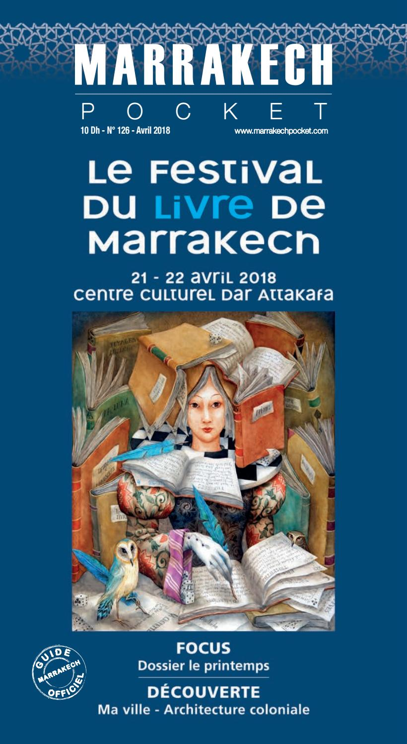 Marrakech Pocket N 126 Avril 2018 By Couleurs Com Issuu