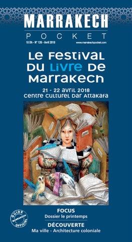 MARRAKECH POCKET N° 126 - AVRIL 2018 by Couleurs Com - issuu e8b1e67d74b0