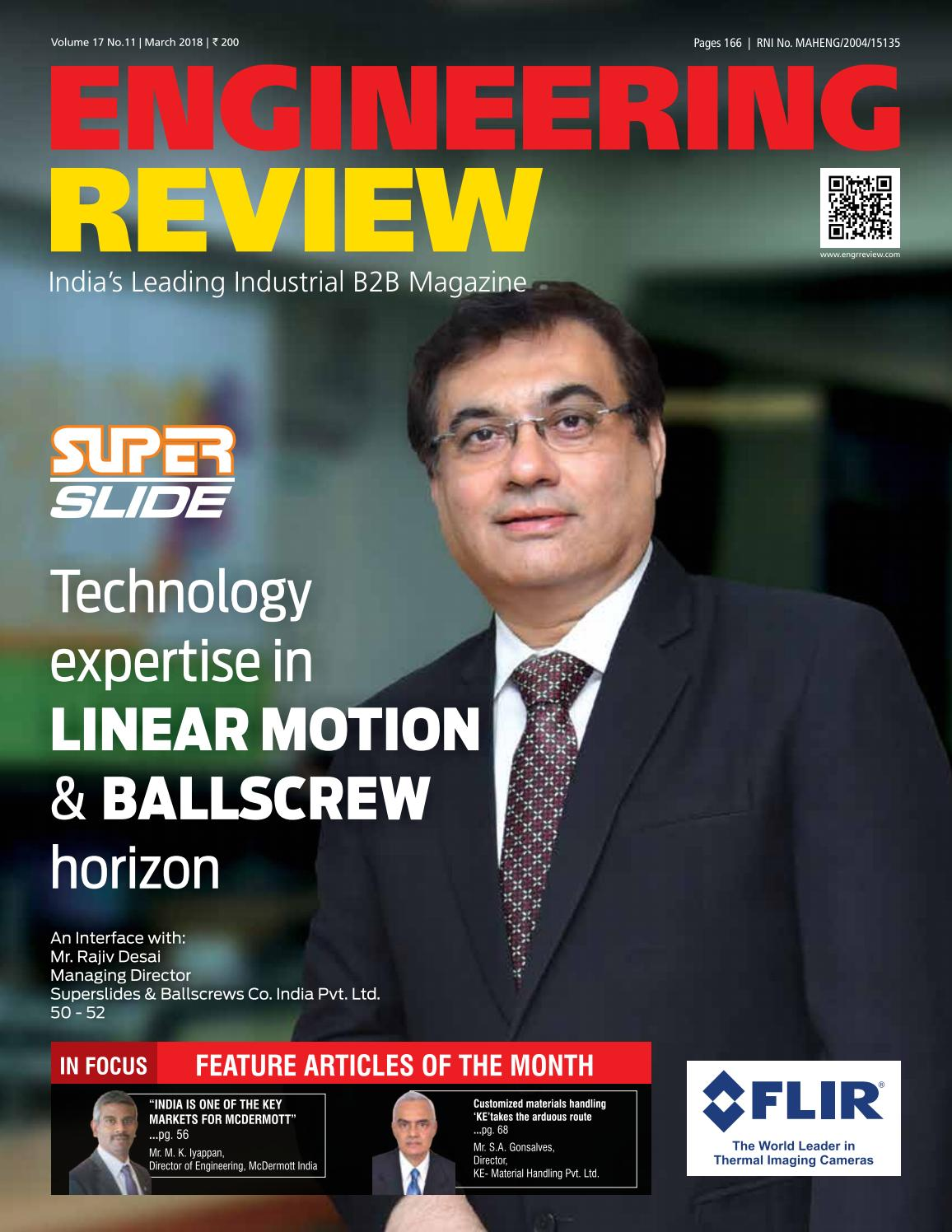 Engineering Review March 2018 by Divya Media Publications Pvt  Ltd