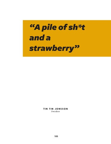 "Page 105 of ""A pile of sh*t and a strawberry"""