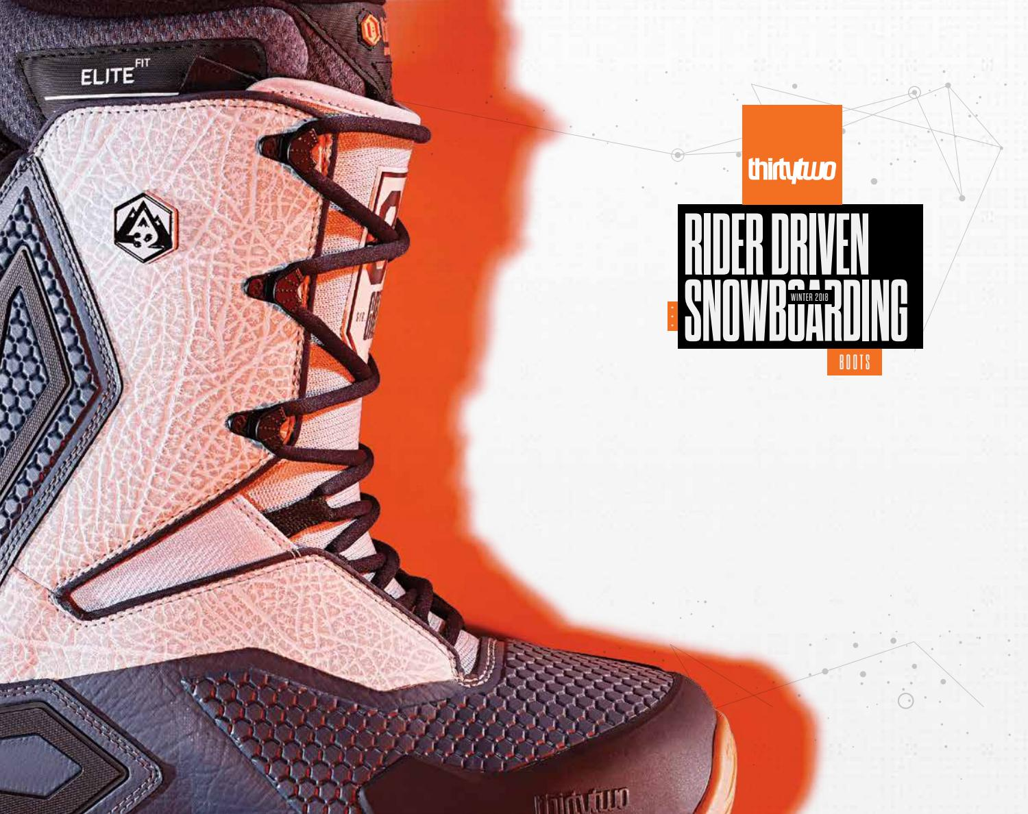 598e92517fd Thirty Two Boots 2019 ▷ Snowboard 1819 by OutdoorSport.ES - issuu