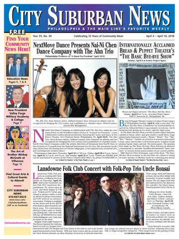5b34aae0c City Suburban News 4 4 18 issue by City Suburban News - issuu