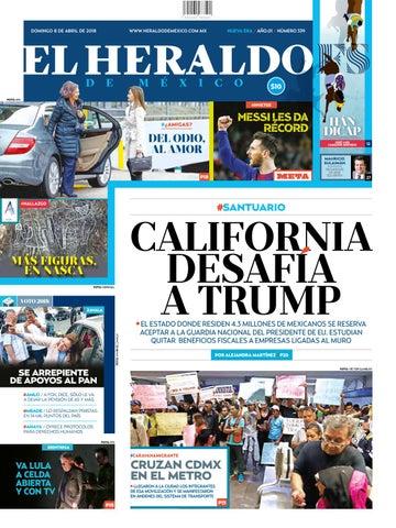 8 de abril de 2018 by El Heraldo de México - issuu e6dc7374961