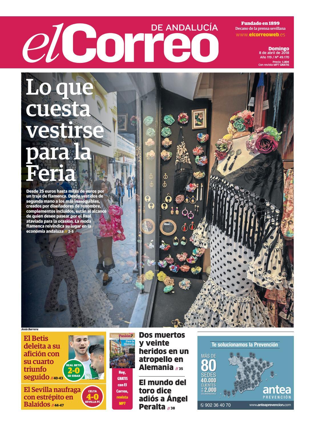 606735b4e5 08.04.2018 El Correo de Andalucía by EL CORREO DE ANDALUCÍA S.L. - issuu