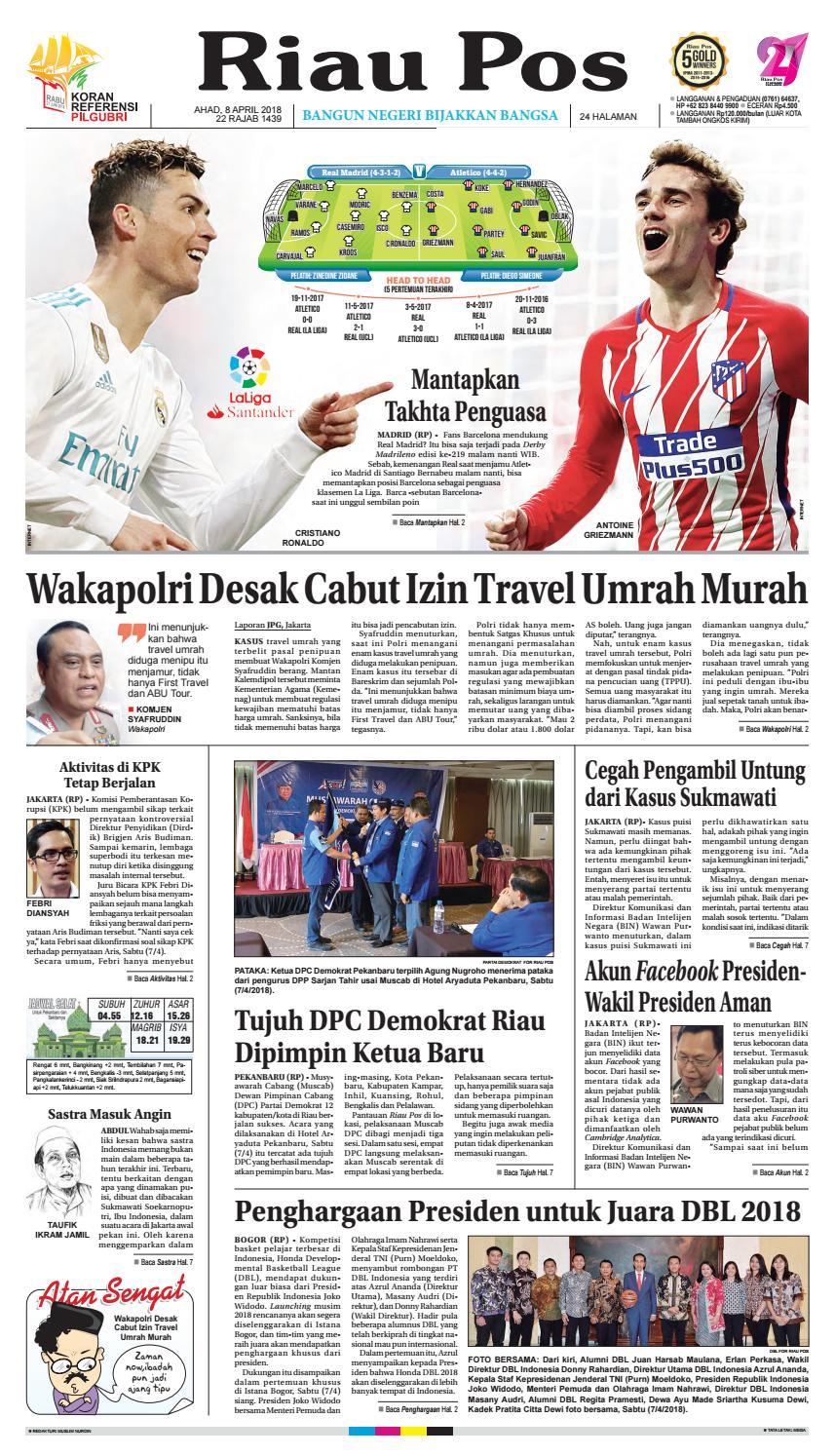 2018 04 08 By Riau Pos Issuu