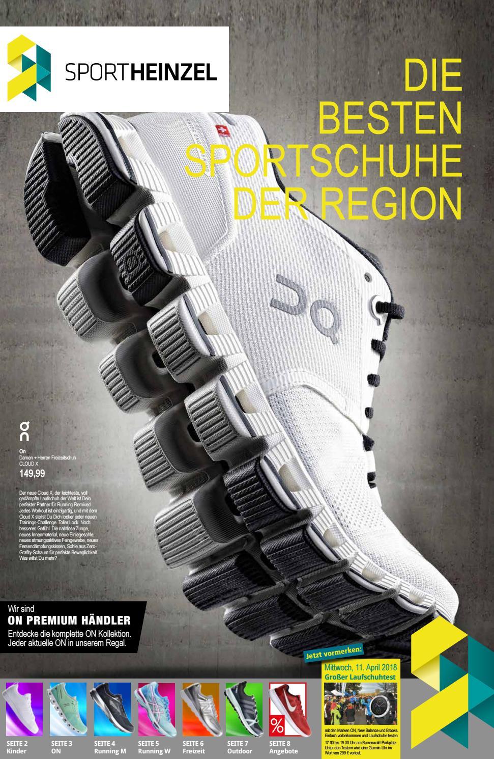 Die besten Sportschuhe 2018 by Sport Heinzel issuu