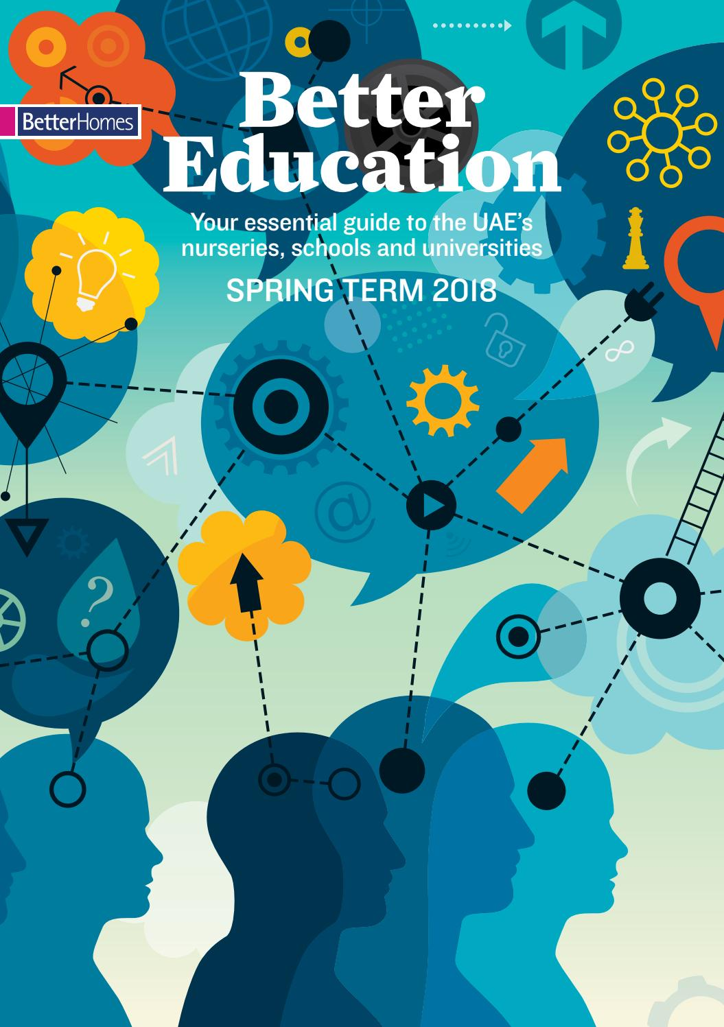 Better Education Guide - Spring Term\'18 by Hot Media - issuu