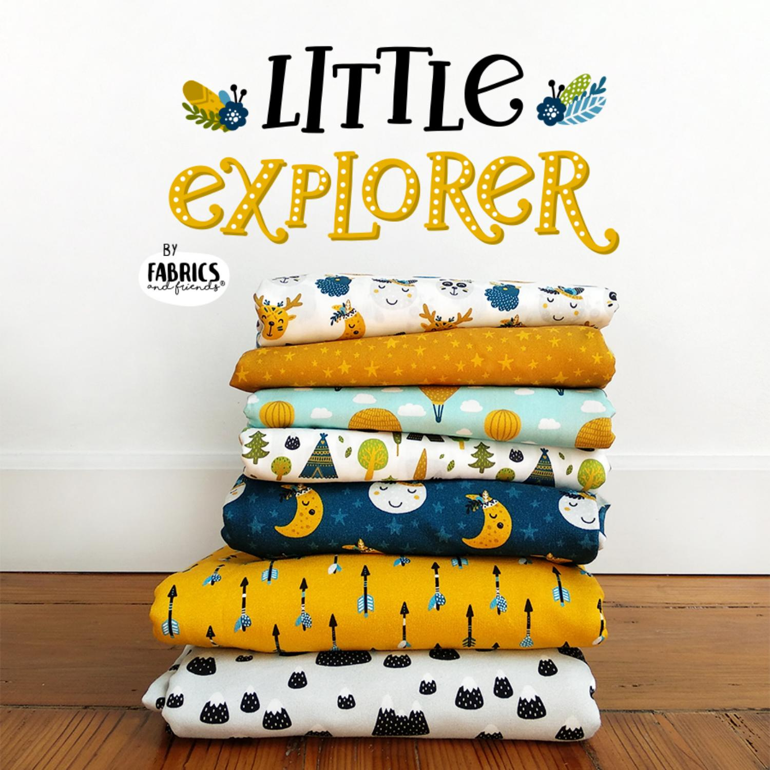 8c3c7e31ade1 LITTLE EXPLORER lookbook by Fabrics   Friends - issuu