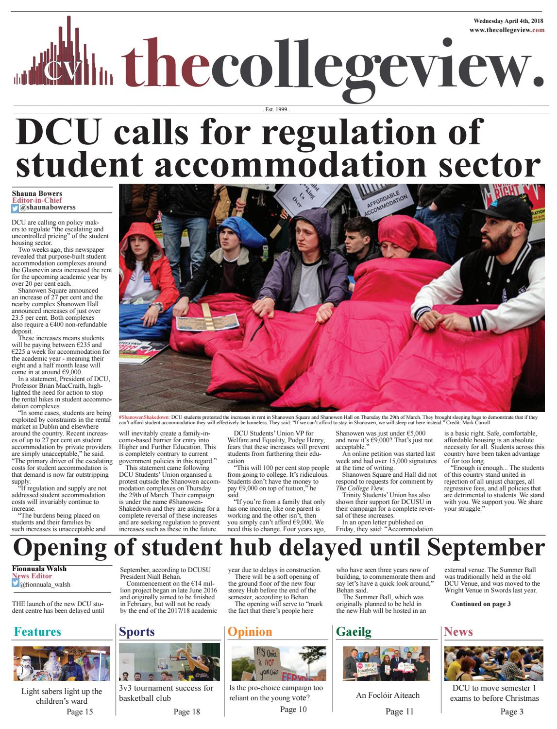 The College View Issue 10