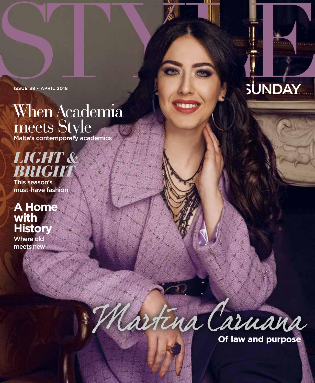 bd3471adf3 Style on Sunday - Issue 38 - Spring 2018 by Content House Group - issuu