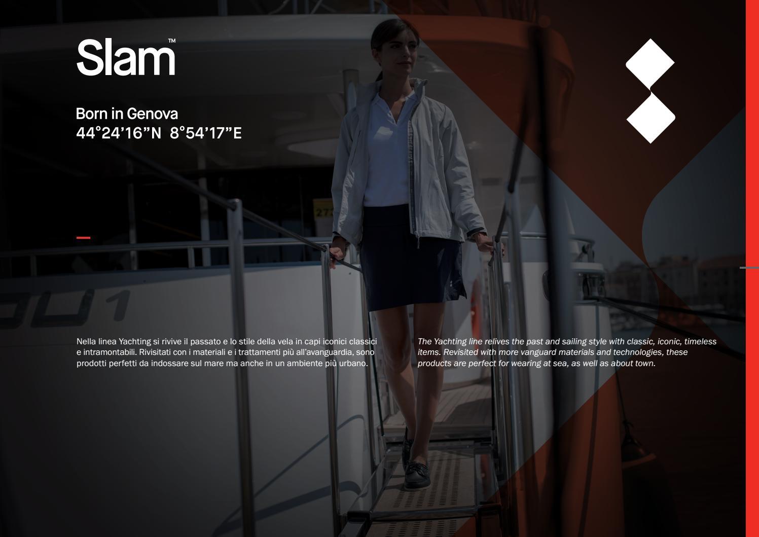 Slam Summer Sailing Giacca da Donna 100/% Nylon