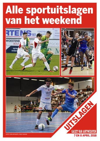 Sportuitslagen 26 maart 2018 by gazetvanantwerpen - issuu 5cb5bb0570595