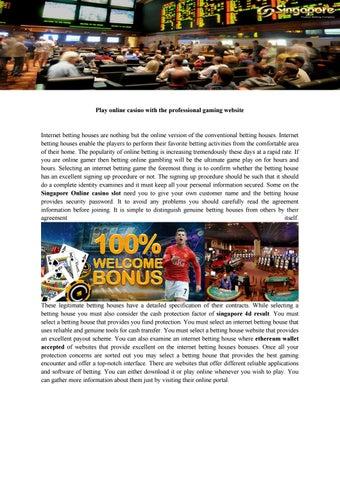 what is online casino bonus